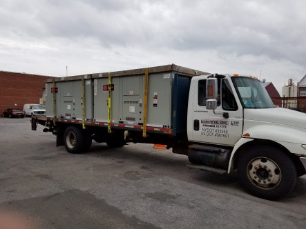 Flatbed Trucking Farmingdale, NYC - McGuire Trucking Service