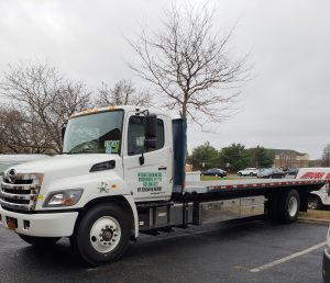Air-ride Flatbed trucking Delivery Queens Brooklyn Bronx Manhattan NYC