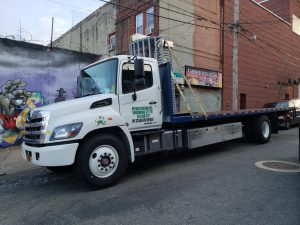 Air-ride Flatbed trucking Queens Brooklyn Bronx Manhattan NYC