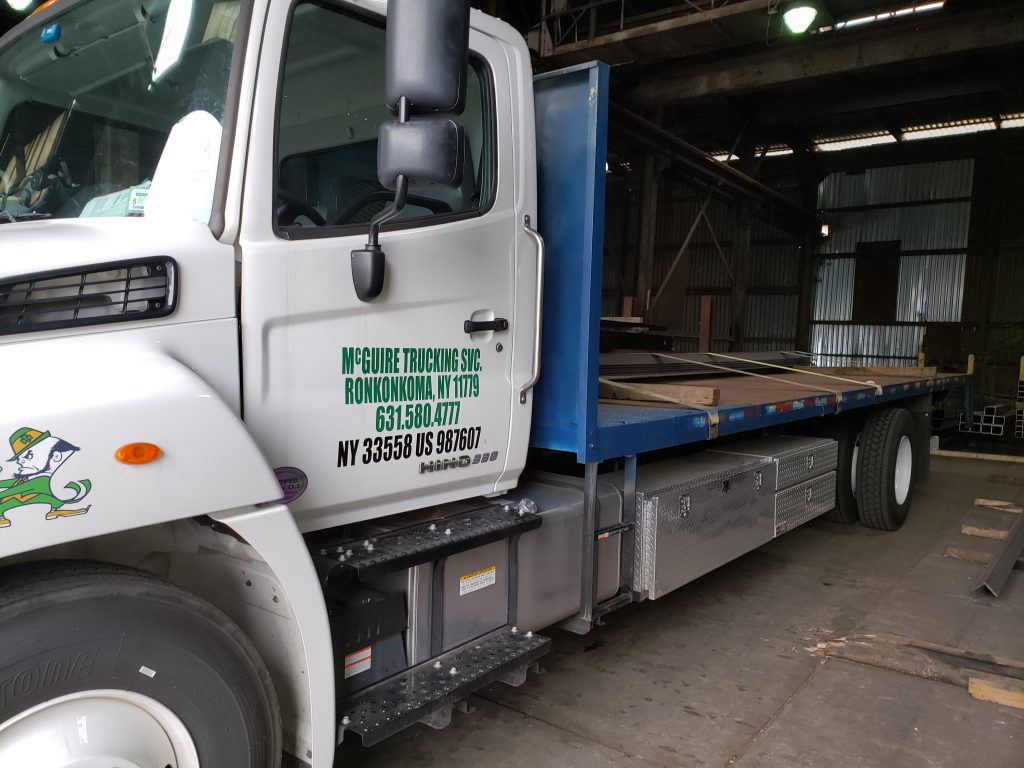 Air Ride Flatbed Service Lawrence NY - McGuire Trucking Service