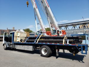 Bedford Stuyvesant trucking flatbed delivery Brooklyn NYC